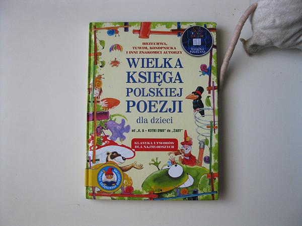 Montessori Duże I Małe Wielka Księga Polskiej Poezji Dla Dzieci