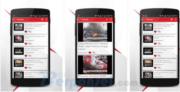 Aplikasi Streaming nonton bola android