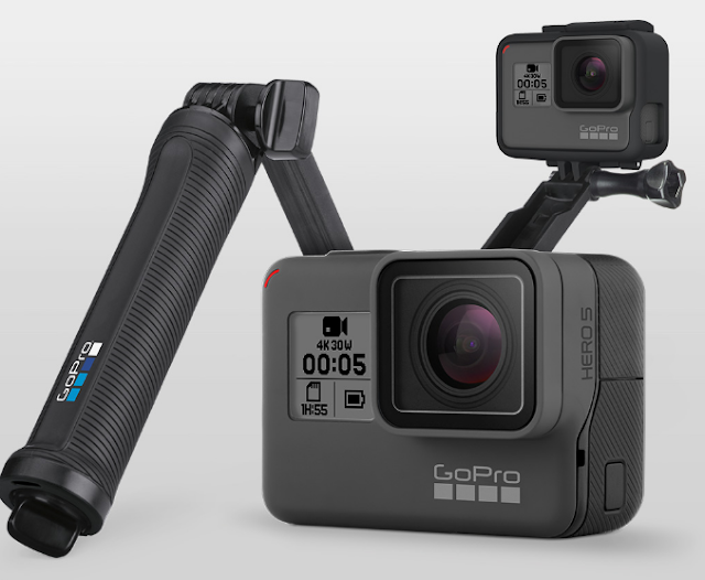 GoPro Hero5 Black with 4K-resolution video feature