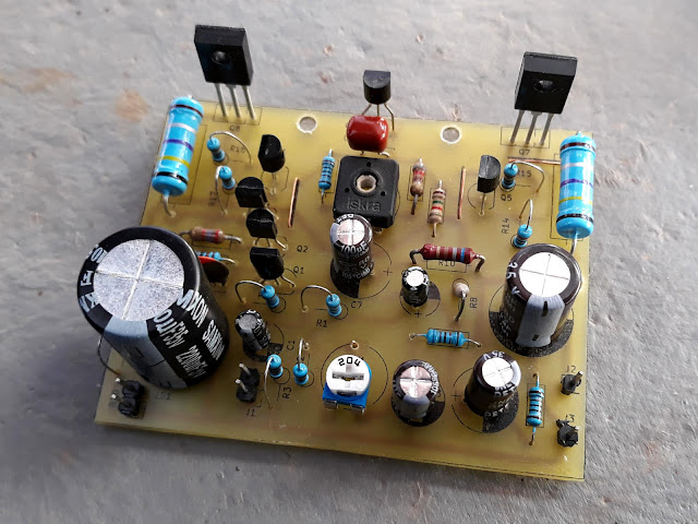 10W Audio Amplifier with Transistors