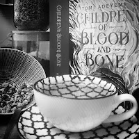 A tea blend based on Inan from Children of Blood and Bone by Tomi Adeyemi