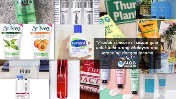 14 Produk Skincare Drugstore Yang Sehebat Jenama Mahal Untuk Kulit Orang Malaysia
