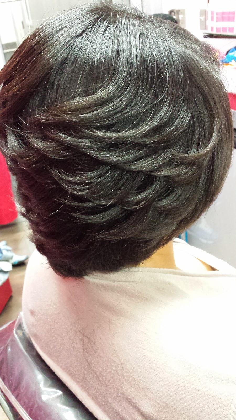 silk press on transitioning hair   latoya jones