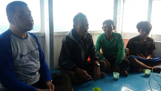 Rombongan Kunker Wabup Kep. Selayar, Selamatkan Korban Kapal Tenggelam