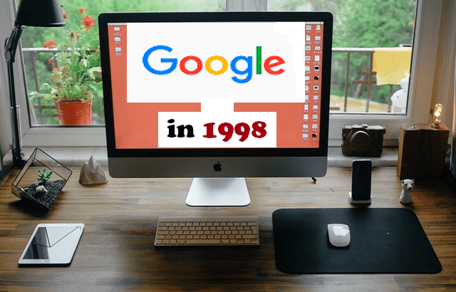 Google Easter egg : See how Google Search engine looked in 1998 ...