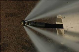 Limpieza de tuberías con agua a presión en Santiago