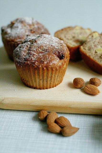 Mmi, mittwochs mag ich, glutenfreie Muffins, Rezept, gesunde Muffins, zuckerfrei, mehlfrei backen, Apfelmuffins, gesund backen für Kinder
