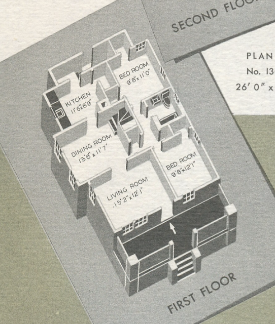 Sears Vallonia floor plan