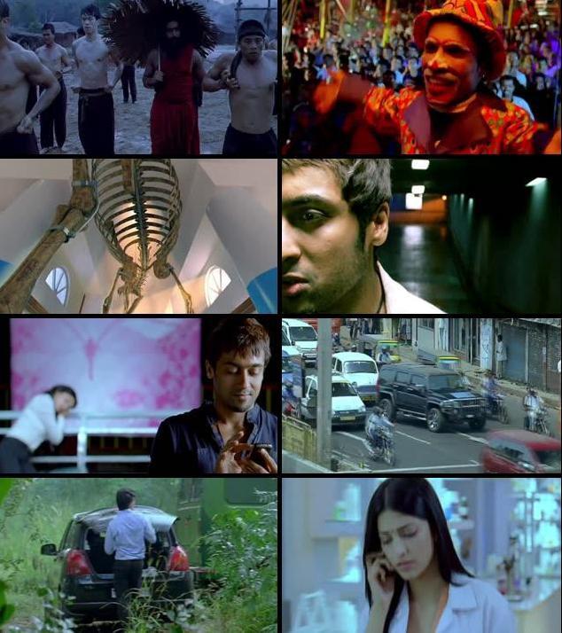 7 Aum Arivu 2011 UNCUT Dual Audio Hindi 720p HDRip