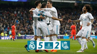 Real Madrid vs Real Sociedad 5-2 Highlights, Ronaldo Hat-Trick