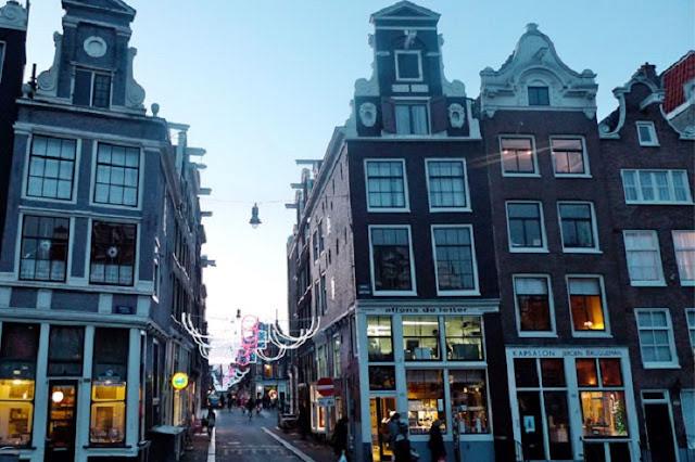Straatjes em Amsterdã