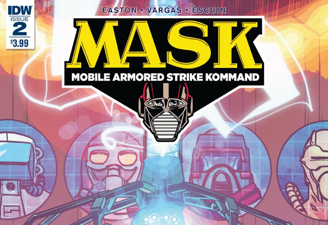 M.A.S.K. #2 Now Available In Comic Shops and Digital Download