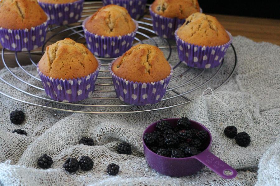 blackberry-muffins, muffins-de-moras-y-limon