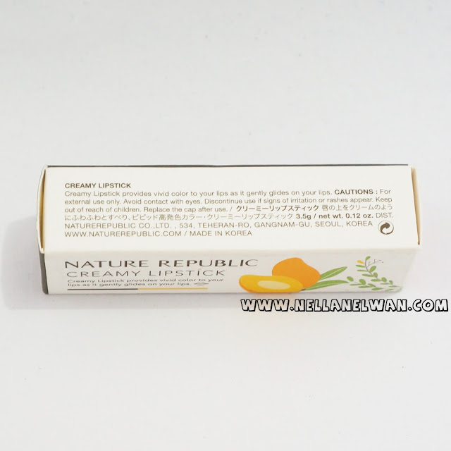 nature republic creamy lipstick no 12 review nellanelwan
