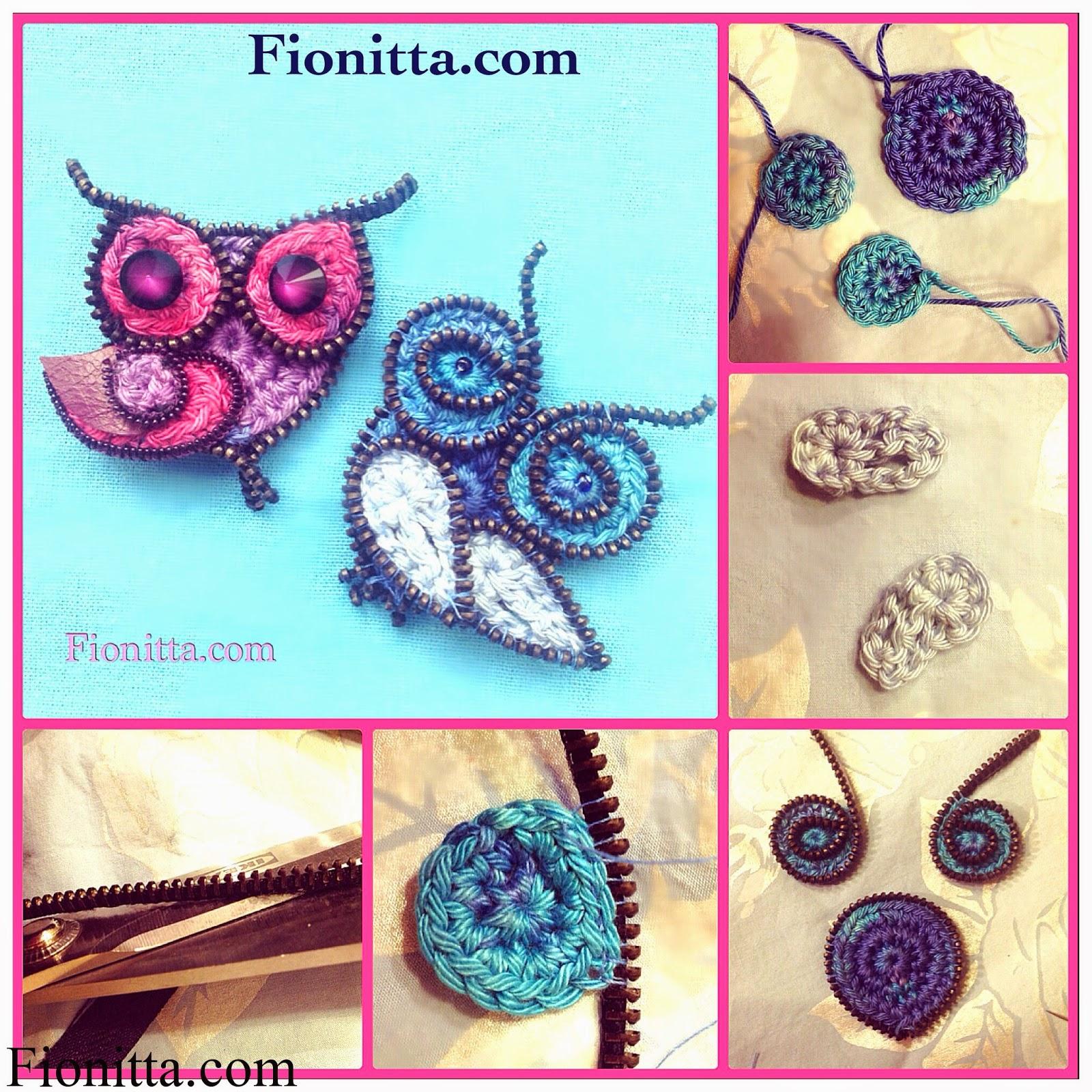 Hermosa Patrón De Crochet Búho Modelo - Ideas de Patrones de Costura ...