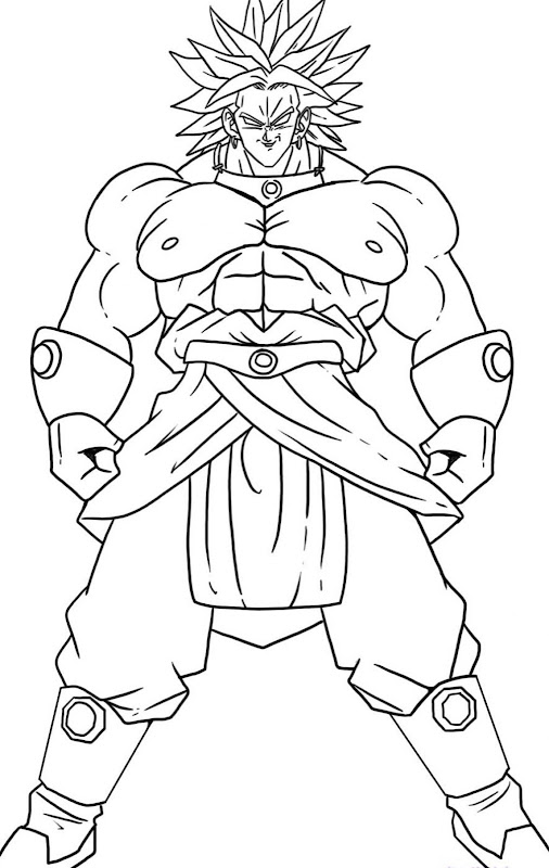Dragon Ball Z Character Coloring Pages Best Coloring Pages