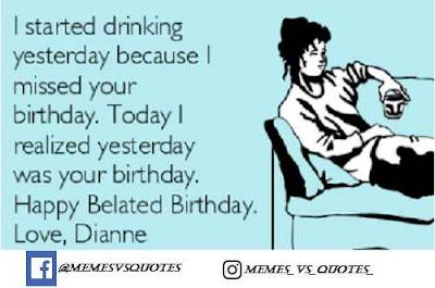 Yesterday I start drinking