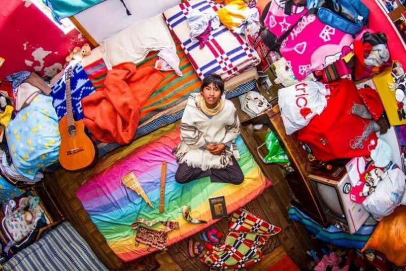 غرفة نوم من لاباز- بوليفيا