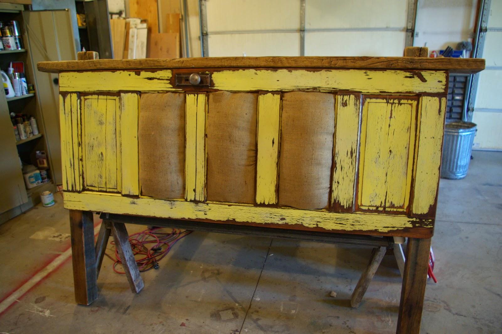 Vintage Door Headboard 23