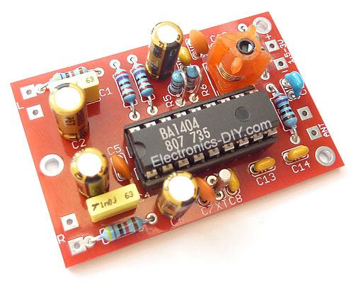 kit-Transmitter-fm-ba14041, Transmitter kit fm ba14041
