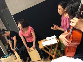 フラメンコ教室ティエラ・フラメンカ発表会 リハーサル