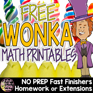 https://www.teacherspayteachers.com/Product/WONKA-Math-Printables-FREE-Candy-Themed-Fast-Finishers-Homework-Extensions-3030519