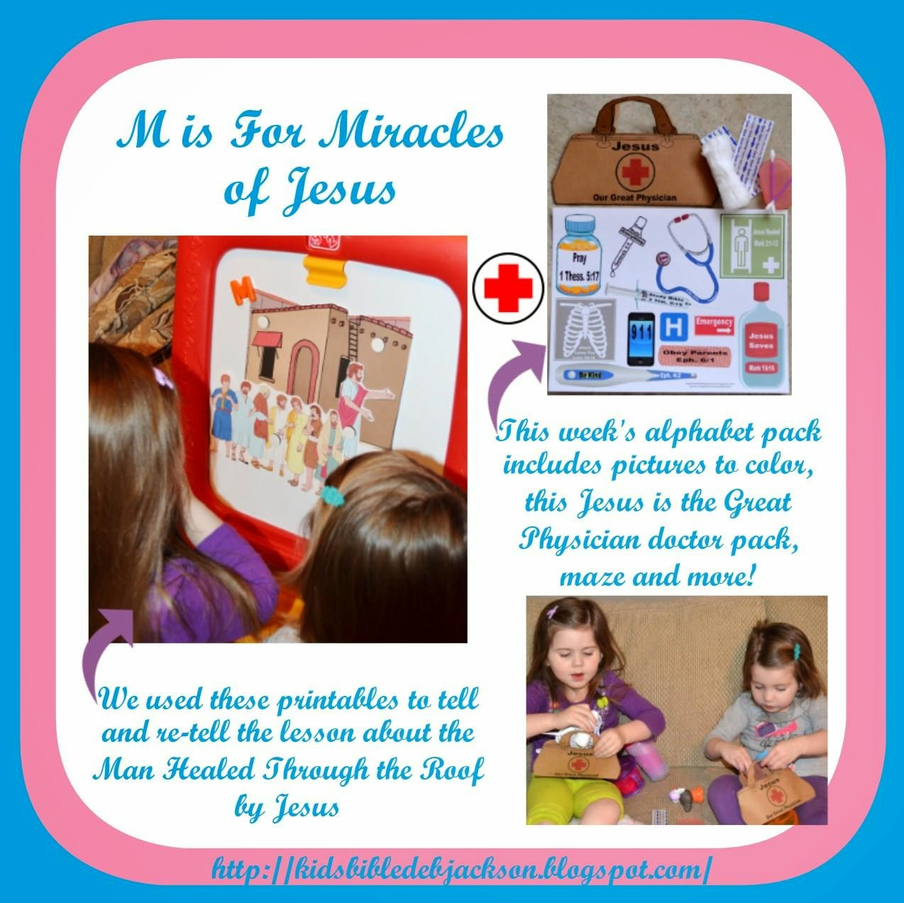 http://kidsbibledebjackson.blogspot.com/2014/04/preschool-alphabet-m-is-for-miracles.html