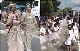 longest wedding saree, srilanka Guinness world record.