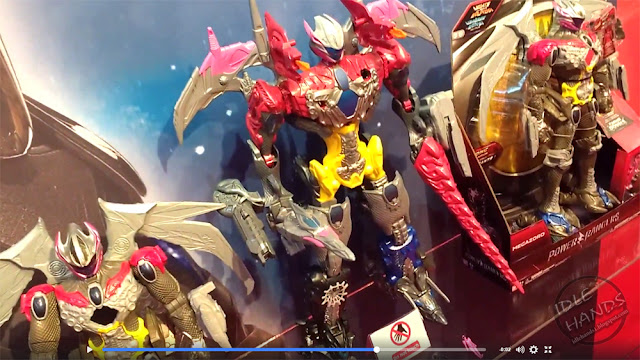 Toy Fair 2017: Bandi's Power Rangers Toys
