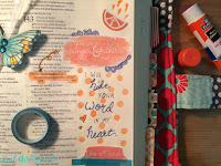 Using Printables in Bible Journaling