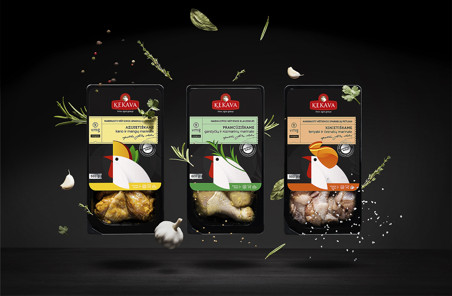 Kekava Marinaded Chicken On Packaging Of The World