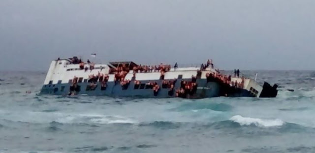 Video di dalam KM Lestari Maju Tenggelam di Selat Selayar, Penumpang Teriak dan Menangis