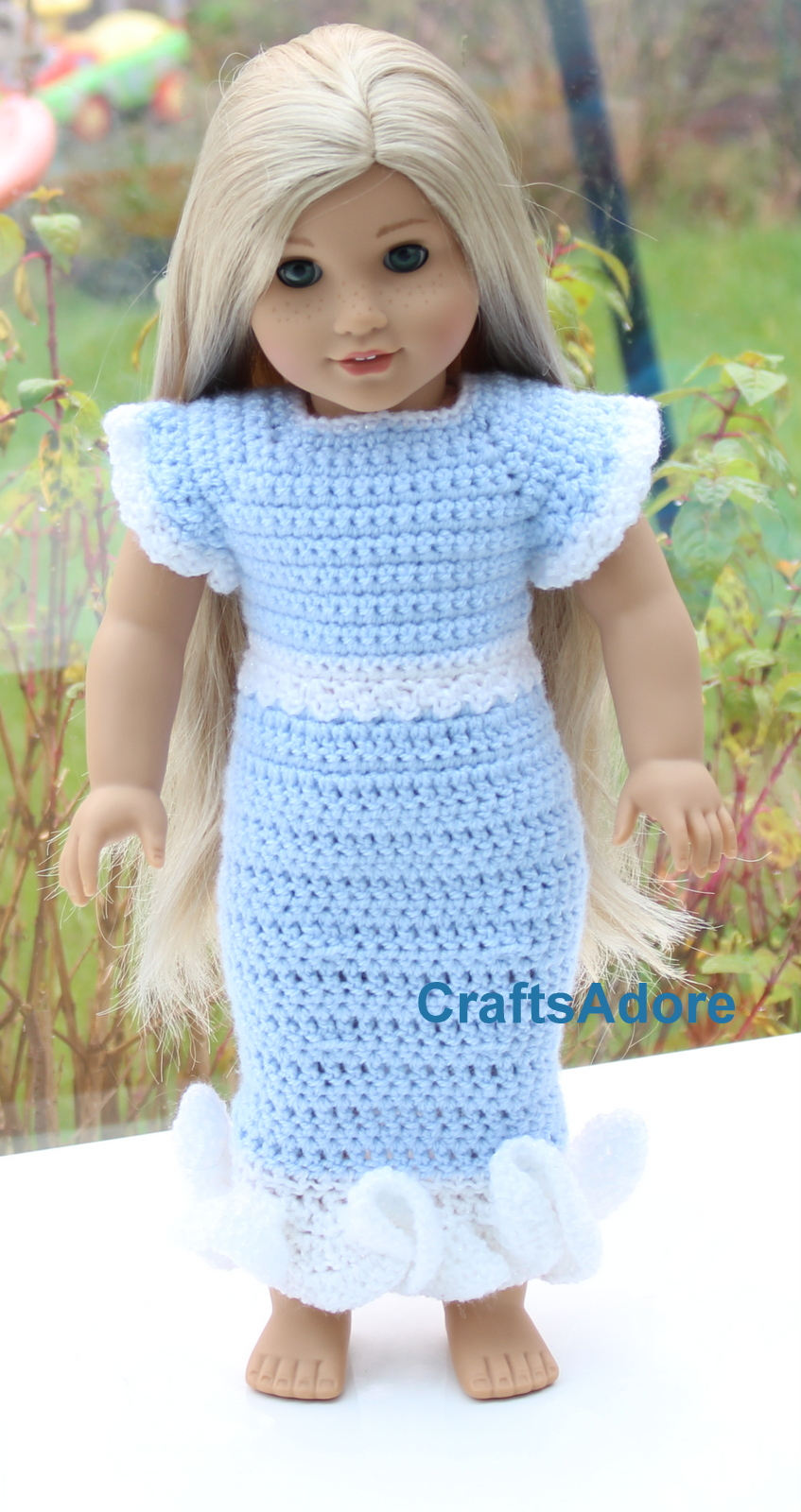 Free Crochet Patterns For American Girl Doll Custom Decorating Ideas