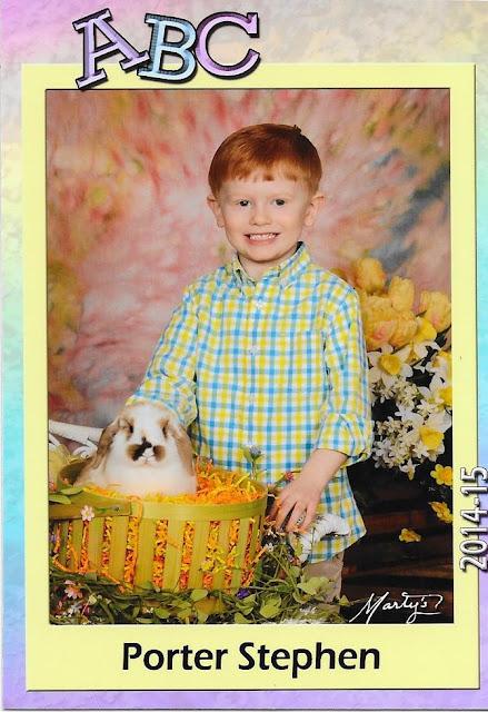 Porter's Preschool Spring Pic