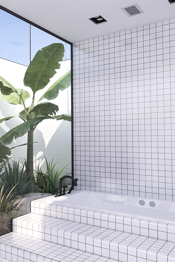 Vosgesparis a must see urban contemporary bathroom with for Urban bathroom designs