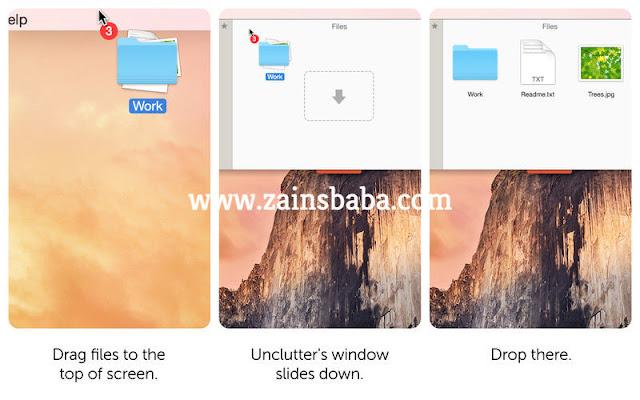 Unclutter 2.1.6d MacOS Latest | ZainsBaba.com