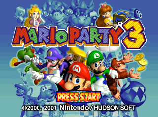 Cristofithox's Blog!: Mario Party 3 VC N64 Injection For Wii