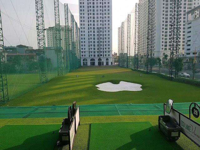 Sân Golf tại dự án Eco Lake View