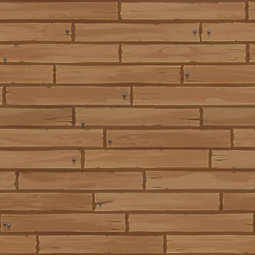 Cartoon Wooden Planks 2