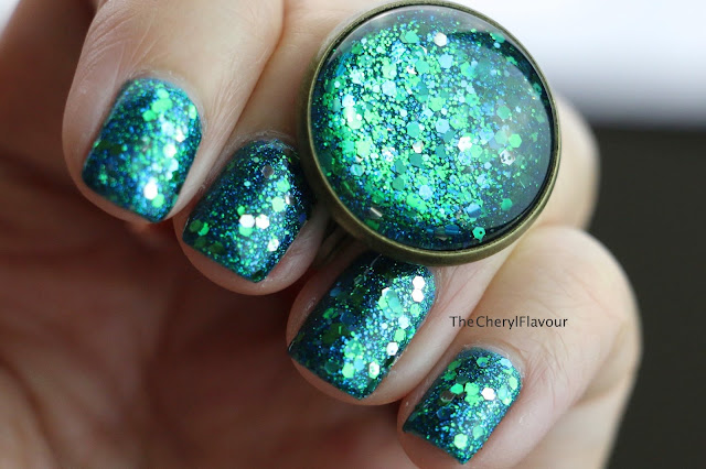 Mermaid Tale Nail Art + Nail Polish Jewelries