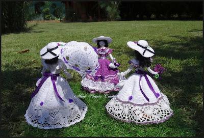 """Doll provençale """"Lavande"""""""