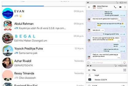 BBM Mod Official V.3.3.8.74 Apk