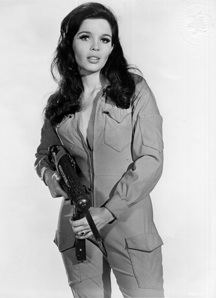51a7cc65c8a81 Viviane Ventura for the Movie: Battle Beneath the Earth, 1967 ...