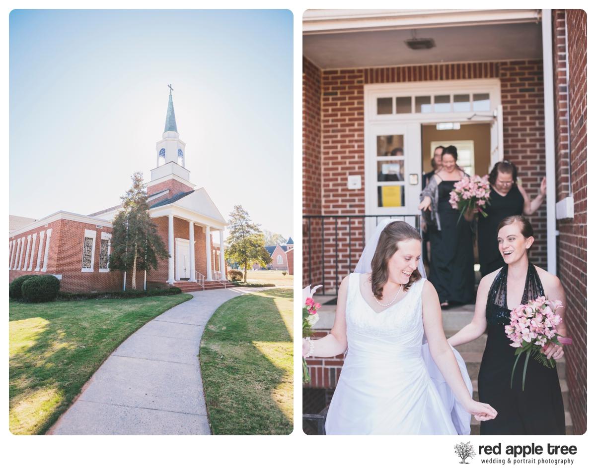 Jennifer Travis S Wedding Pendleton Sc Red Apple Tree Photography