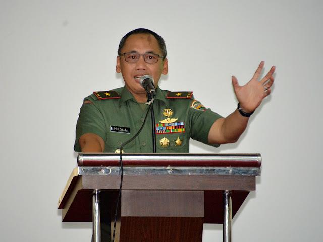 Brigjen TNI Mirza Agus : Bangkit lah Pemuda Mentawai