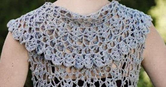 Crochet Sweaters Crochet Pattern Of Beautiful Bolero Round Crochet