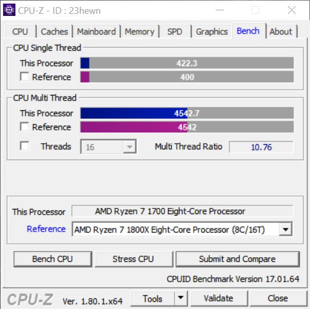 Archimago's Musings: HOWTO: AMD Ryzen 7 1700 overclocking to 1800X