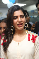 Samantha Ruth Prabhu Smiling Beauty in White Dress Launches VCare Clinic 15 June 2017 038.JPG