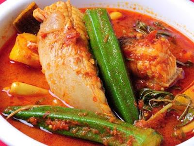 Resepi Asam Pedas Ikan Pari Dengan Bendi