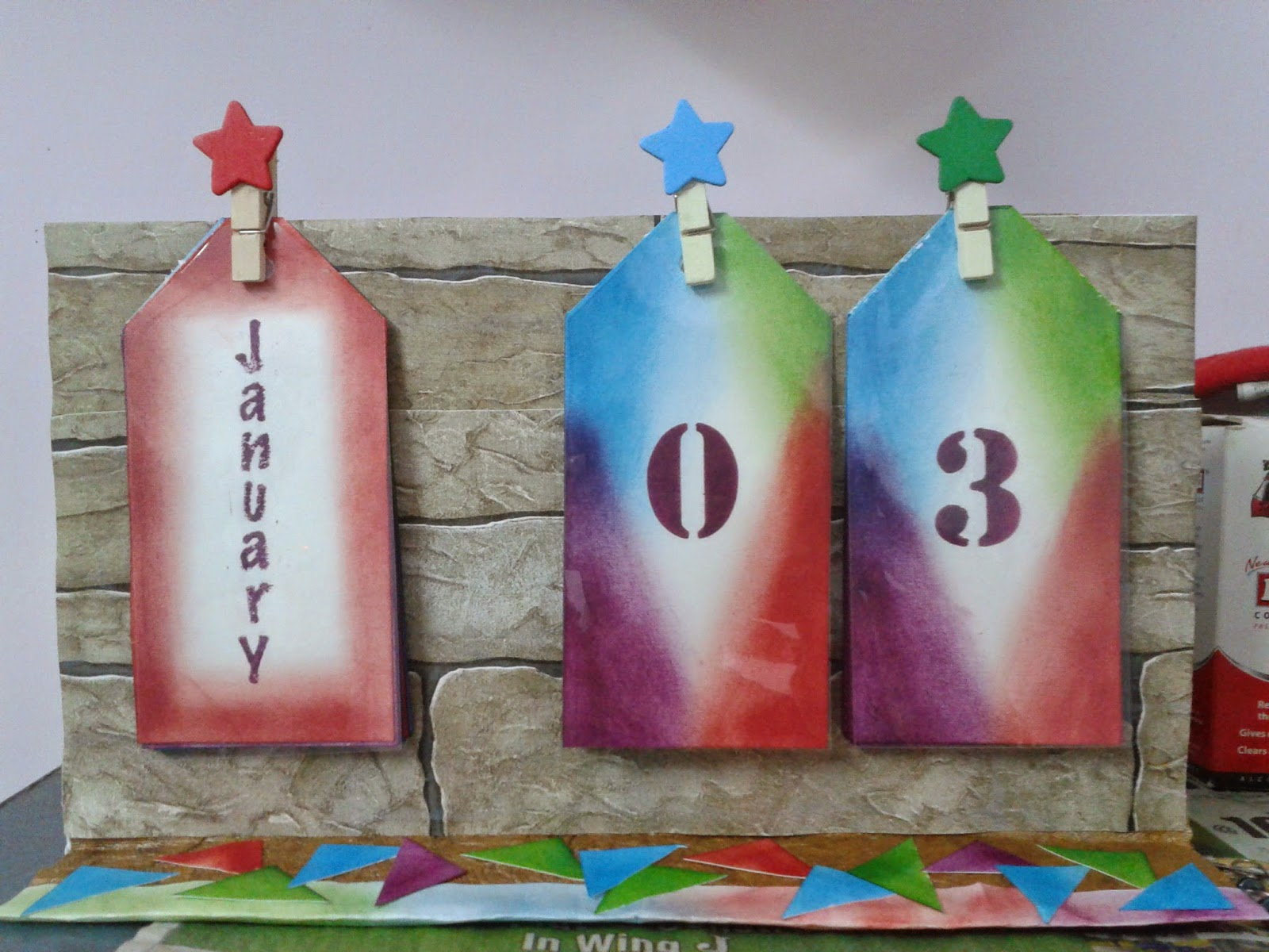 http://suchizcardstock.blogspot.in/2015/01/tag-table-calender.html